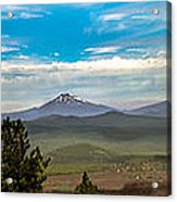 Panoramic View Of The Cascades Acrylic Print