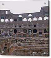 Panoramic View Of The Colosseum Acrylic Print