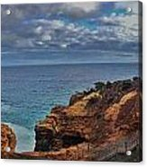 Panoramic View Of The Grotto Acrylic Print