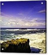 Panoramic View Of The Pacific Ocean Acrylic Print
