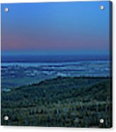 Panoramic View Overlooking Anchorage Acrylic Print