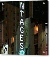 Pantages Neon Acrylic Print