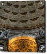 Pantheon Ceiling Detail Acrylic Print