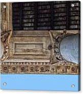 Pantheon Pillars 5 Acrylic Print