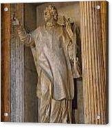 Pantheon Statue 2 Acrylic Print
