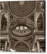 Pantheon Vault Acrylic Print