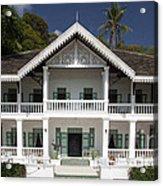 Panwa House - Thailand Acrylic Print by Pete Reynolds