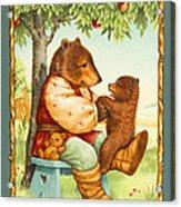 Papa Bear Acrylic Print