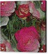 Paper Roses Acrylic Print
