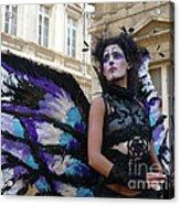 Papillion Femme Acrylic Print