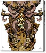 Papillon Mecaniques Acrylic Print by Brian Kesinger