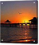 Paradise At The Pier Acrylic Print