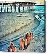 Paradise Cove Pier Acrylic Print
