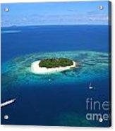 Paradise Island In South Sea II Acrylic Print by Lars Ruecker