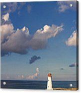 Paradise Island Lighthouse Acrylic Print by Stephanie McDowell
