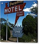 Paradise On Route 66 Acrylic Print
