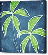 Paradise Palm Trees Acrylic Print