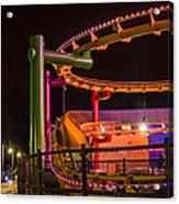 Paradise Park At Night Acrylic Print