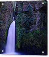Paradise Pours Wanclella Falls Oregon Acrylic Print