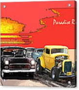 Paradise Road Acrylic Print by Barry Cleveland