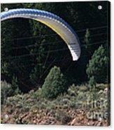 Paragliding Hazards Acrylic Print