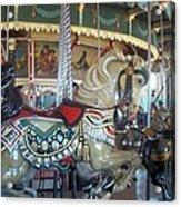 Paragon Carousel Nantasket Beach Acrylic Print