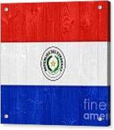 Paraguay Flag Acrylic Print