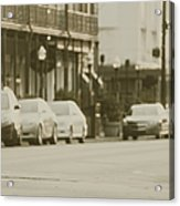 Parallel Parking Acrylic Print