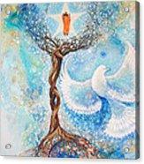 Paramhansa Yogananda - Mist Acrylic Print