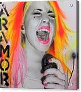 Paramore Acrylic Print