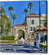 Paramount Movie Studio Hollywood Ca 4 Acrylic Print