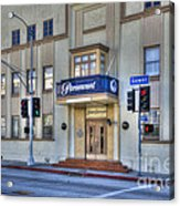 Paramount Movie Studio Hollywood Ca Acrylic Print