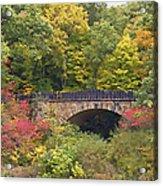 Parapet Bridge Acrylic Print