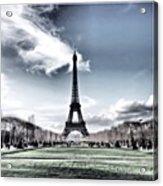Paris • I Used Snapseed Acrylic Print