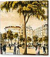 Paris 1878 Acrylic Print