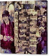 Paris 1964 Beatles Acrylic Print