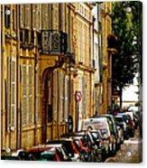 Paris Afternoon Acrylic Print