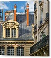 Paris Architecture Acrylic Print