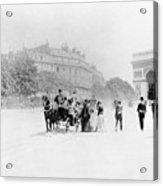 Paris Avenue Foch, C1895 Acrylic Print