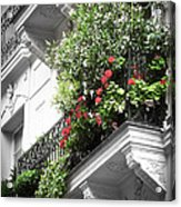 Paris Balcony Acrylic Print