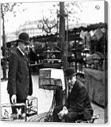 Paris Bird Vendors, 1900 Acrylic Print