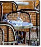 Paris Cafe 2 Acrylic Print