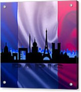 Paris City Acrylic Print