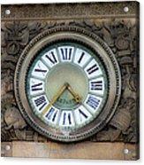 Paris Clocks 1 Acrylic Print