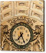 Paris Clocks 2 Acrylic Print by Andrew Fare