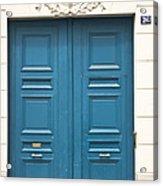 Paris Door Acrylic Print
