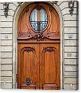 Paris Doors Acrylic Print