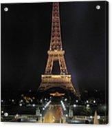 Paris: Eiffel Tower Acrylic Print