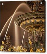 Paris Fountain Acrylic Print