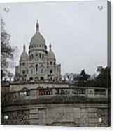 Paris France - Basilica Of The Sacred Heart - Sacre Coeur - 12129 Acrylic Print